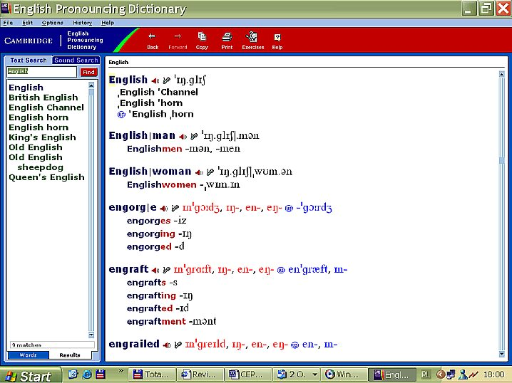 Cambridge English Pronouncing Dictionary Cepd On Cd Rom