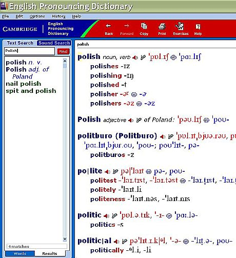Cambridge English Pronouncing Dictionary (CEPD) on CD-ROM