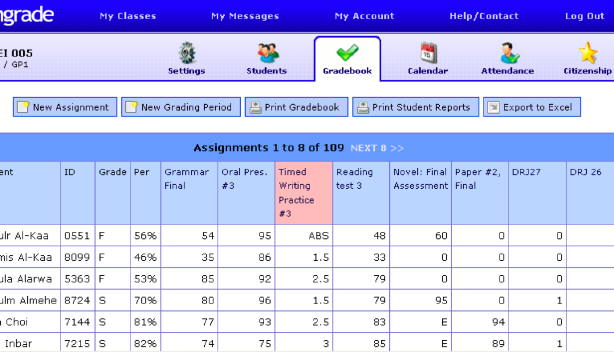 Engrade: An Open-Source Online Gradebook
