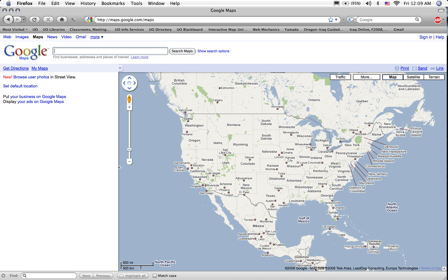 Using Google My Maps for Classroom Projects